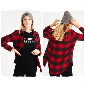 AE Ahh-mazingly Soft Flannel Boyfriend Shirt